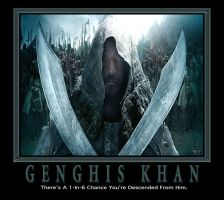 GENGHIS KHAN by RONSGRAPHICS
