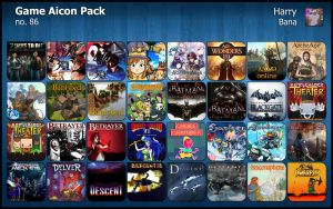 Game Aicon Pack 86 by HarryBana