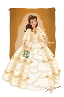 Belle Wedding Gown by Cor104