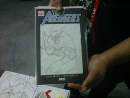 Nycc2012-Green Lantern on Sketch Cover by sire64