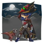 RS: Chibi Grim w/Runtstable by Tifa-Amakura