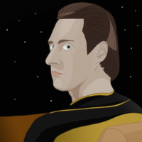 Lieutenant Commander Data by AfistfullofDatas