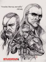 Old Snake pencils by Robus2