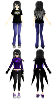 Reference - Ava Sparks by YourFaceLooksFunny