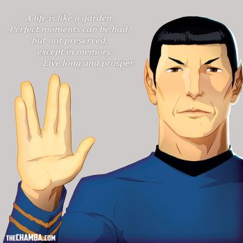 Rest in Peace Nimoy by theCHAMBA