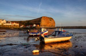 Staithes Harbour Sunrise by GaryTaffinder