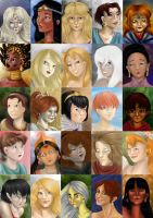 Portraits of Forgotten animated heroines by AalienoOr