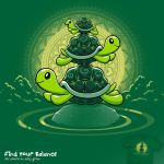 Find Your Balance - tee by InfinityWave