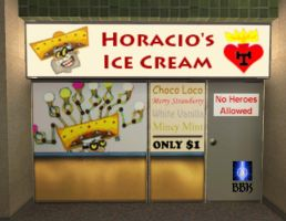 Horacio's Ice Cream Shop by BB-K