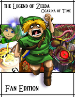 LOZ Ocarina of Time  Fan edition cover by girldirtbiker