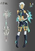 Innomee - Human Keyblade by EroTako