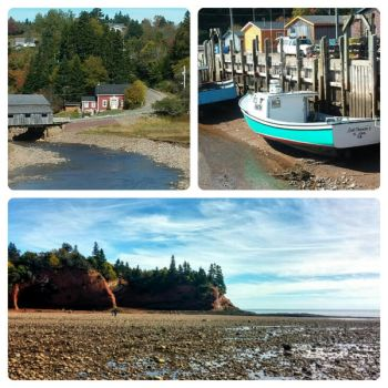 Saint Martins, NB Collage by Hesperie