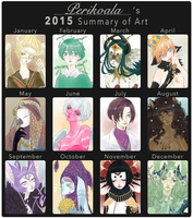 Art Summary 2015 by Perikoala