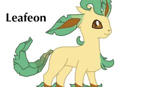 Leafeon by Sahirathedragoness