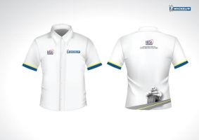 michelin dealer uniform. by gezl