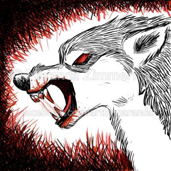 Blood Wolf by Coloran