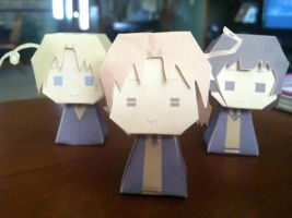 Hetalia Paper Crafts (Thank You for 50 Watchers!) by LukaMegurine78