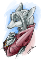 Freya wonderful Dragon Knight by MysteryOne617