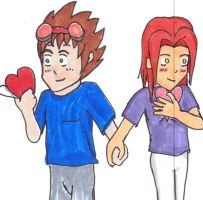 Valentine First's -Coloured by Alman001