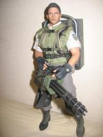 Hot Toys 1/6 scale Chris Redfield STARS edition by Demon-Lord-Cosplay