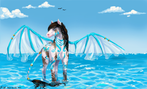 Seahorse by Aoer