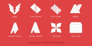 Clean Photoshop Logo Template: Demo by Softboxindia