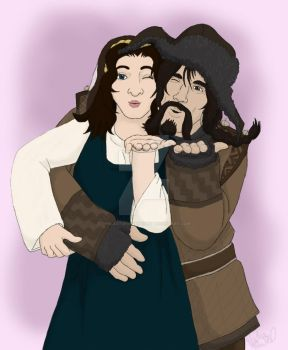 Thank you to You All From Me, Bofur, and Kelda by TheLastUnicorn1985