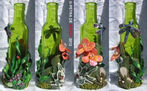 Coloured Bottle Series - Green by spaceship505
