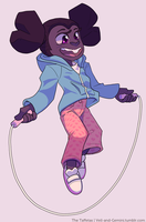 Kid Sapphire by Saetje