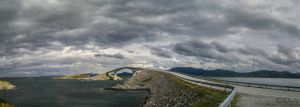 The Stroseisundet Bridge (Norway 17) by LorcanPL