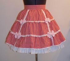 Lolita skirt by chiichick