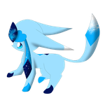 artic the glaceon by snowflake95