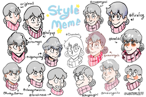 Twitter Art Style meme by ShinyStrawberry