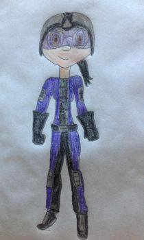 Me in Going Commando suit by Prince5s