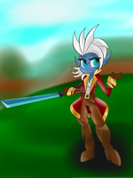 Troll Pirate Zillie by Zilford-the-legend