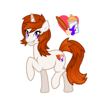 My Little Pony: Frienship is Magic OC Astral Heart by NaginsTheLich