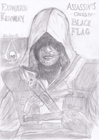 Edward Kenway Assassin's Creed IV: Black Flag by Jerzu97