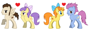 Cake Twins' Couples by 3D4D