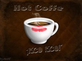 Hot coffe by viiveunaa1viida