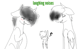 Gif: Laughing noises by ZashaChan