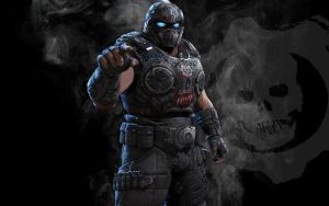 GOW3 Carmine wallpaper by IReckLess