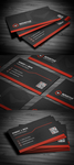 Creative Corporate Business Card by FlowPixel