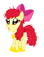 Mi dia perfecto version Applebloom by reina-del-caos