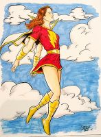 Mary Marvel by DeanStahlArt