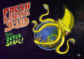 Fresh Banana Squid from Outer Space by zones-productions