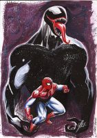 Spiderman e Venon by Trizziu