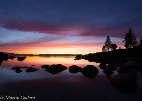 Nevada Sunset- Lake Tahoe by MartinGollery