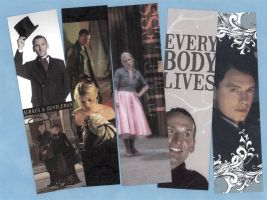 Ninth Doctor Bookmark Set - Free Download by WildeMoon