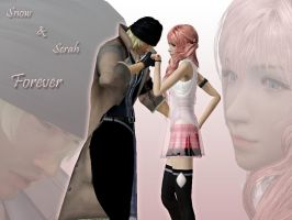 Snow + Sarah Forever Wallpaper by cdh1994