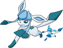 471 - Glaceon - Art v.4 by Tails19950
